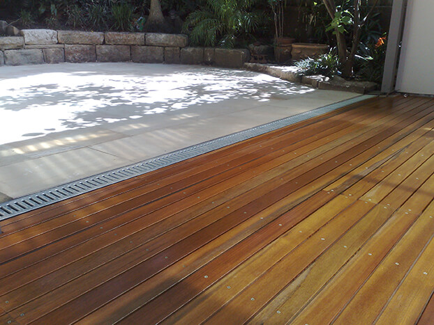 decking and paving works