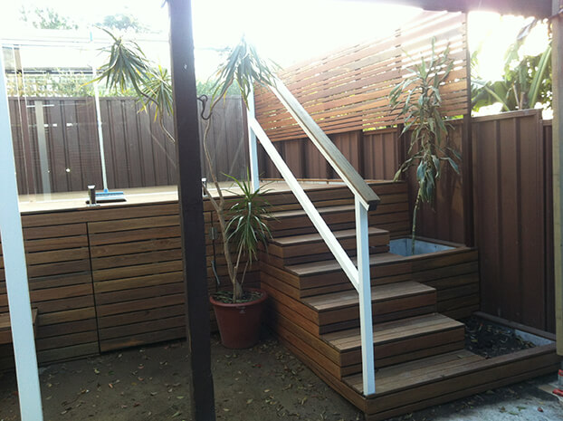 Hardwood Timber Decking Sydney