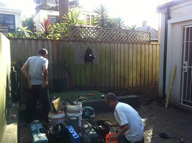 Landscapers Annandale Paving Decking Deck Builders