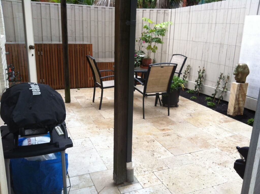 Paving, Fencing and Bin Storage in Glebe